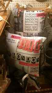 new York Vintage pillows 20 each