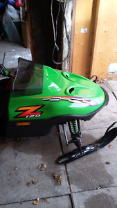 Arctic cat z 120 excellent condition