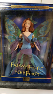 """Barbie """"Fairy of the forest"""" collector doll"""
