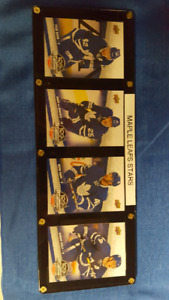 Toronto Maple Leafs stars framed