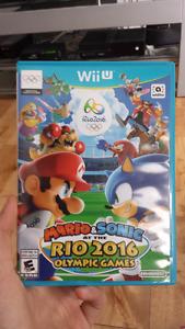 Mario et Sonic aux jeux olympique de Rio 2016*Très Rare*