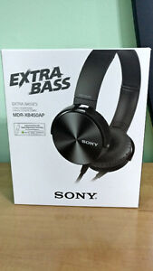 Écouteurs SONY EXTRA BASS MDR-XB450AP