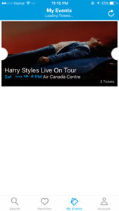 HARRY STYLES TICKETS TORONTO REDUCED PRICES