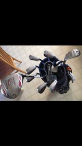 Taylor Made Burner golf clubs