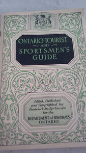 Ontario Tourist and Sportsmen's Guide, 1933 or 1934
