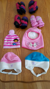 Hat and Mits Size 2-3X