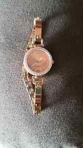 Copper coloured costume watch