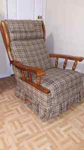 Fauteuil inclinable type lazy-boy