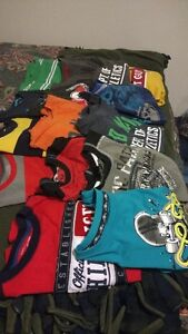 Boys clothes long sleeve tops ..20.00 for the bag of them all