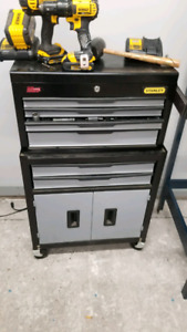 Mint clean Stanley Tool chest with keys