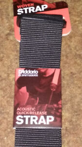 Planet Waves Quick Release Acoustic Guitar Strap-Reduced