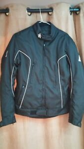 LADIES MOTORCYCLE HELMET AND JACKET