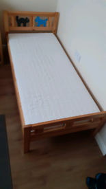 IKEA toddler child bed.
