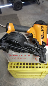 Bostitch Roofing Nailer and compressor