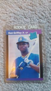 Ken Griffey RC Rookie $300