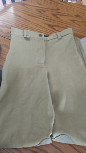 Ladies or Teen Equestrian Riding Pants