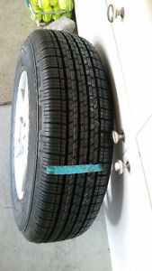 New Continental All-Season Tires with Alloy Rims Kitchener / Waterloo Kitchener Area image 3
