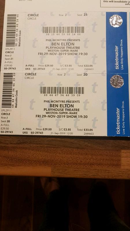 Ben Elton Show Tickets In Warmley Bristol Gumtree