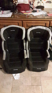 High back booster seats (2)