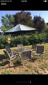 Deluxe Aluminum Patio Set