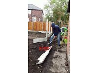 Landscaping fencing gates decking flagging turf driveways etc free quote