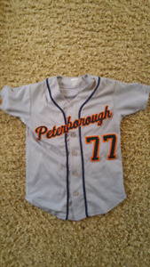 Tigers Peterborough youth baseball uniforms