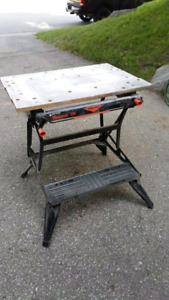 B&D Workmate Workbench