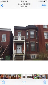 Large 4.5 with 4 closed rooms and 5 appliances in NDG