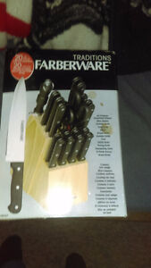 20 piece Faberware Traditions Knife and Block Set Belleville Belleville Area image 1