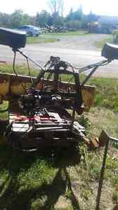 2 snowplows with harnesses + other item