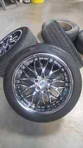 Black Chrome Wheels