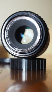 Pentax M 100mm f4.0 macro lens for sale