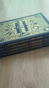 Set of Minecraft Guide Books