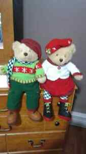 Christmas Singing Bears