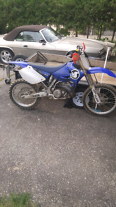 YZ 250 FULLY REBUILT. 2 HOURS ON MOTOR.