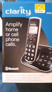 Clarity Bluetooth cordless phone