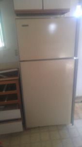 Kelvinator fridge and stove