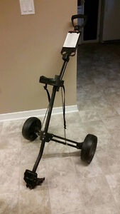 Collapsible Push-Pull Golf Cart