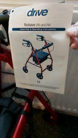 Disability walking rollater new