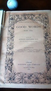 Good Words for 1880, Edited by Donald MacLeod, D.D. Kitchener / Waterloo Kitchener Area image 2