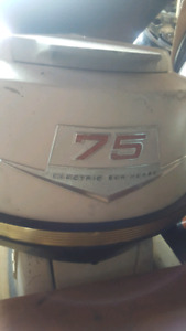 75hp johnson outboard $300