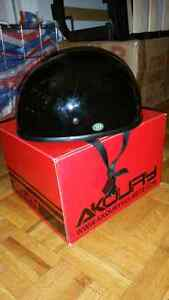 AKOURY HELMET  ( MOTORCYCLE ) BRAND NEW IN BOX