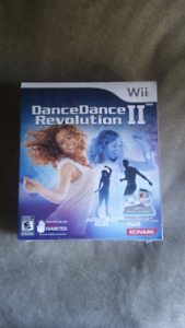 Dance Dance Revolution Two. Brand new in box for Nintendo Wii