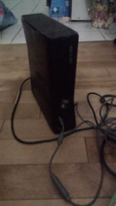 120gb Xbox black edition with 9 games