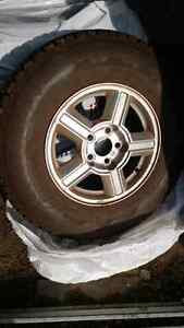 Mint Winter Tires 15' Only used 1 season