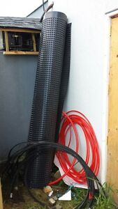 8ft wide house fundation dimpled Damp-proofing Membrane