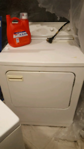 Working whirlpool washer and dryer