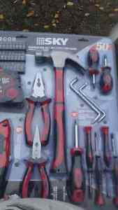 Brand new 50 piece tool kit