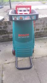 Bosch axt rapid garden shredder,seed spreader, aerator £90ono