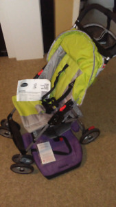 Enfant child deluxe stroller and booster seat.